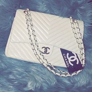Chanel White Purse